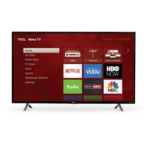 "TCL 32 ""Class 4K UHD LED Roku Smart TV HDR 4 Series 65S425 for Sale in Fort Pierce, FL"