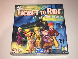Ticket To Ride First Journey Kid's Board Game NEW Ages 6+ for Sale in Raleigh, NC