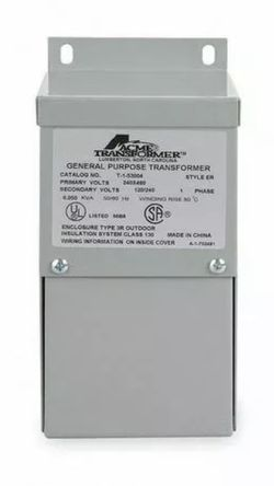 ACME ELECTRIC T253012S Low Voltage Single Phase Distribution Transformer 240x480 NEW (open box) for Sale in West Valley City,  UT