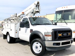 2008 Ford F450 Super Duty Bucket Truck 105k Miles Clean Title for Sale in Oakland Park, FL