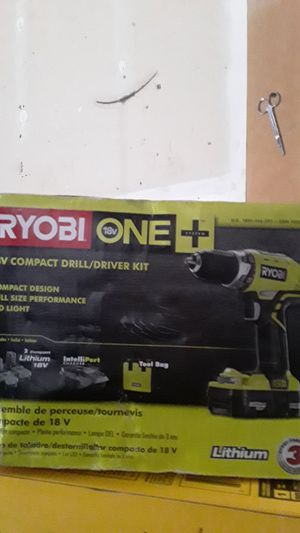 RYOBI ONE 18V COMPACT DRILL for Sale in Spanaway, WA