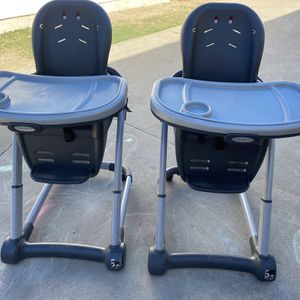 Graco High Chair Covertible To Booster Seat for Sale in Norwalk, CA