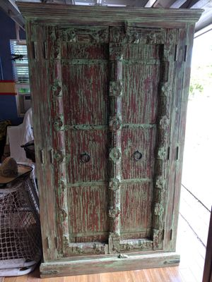 Gorgeous Antique Carved Armoire for Sale in Boca Raton, FL