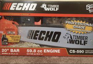ECHO CHAINSAW 59.8 CC CS590 for Sale in Avondale, AZ
