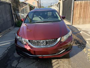 Honda Civic ex title salvage 54,000 miles sedan for Sale in Los Angeles, CA
