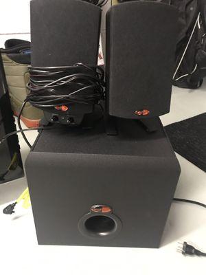 Klipsch speaker system for Sale in UPPER ARLNGTN, OH