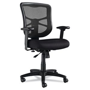 Alera Elusion Series Mesh Mid-Back Swivel/Tilt Office Chair, Black for Sale in Las Vegas, NV