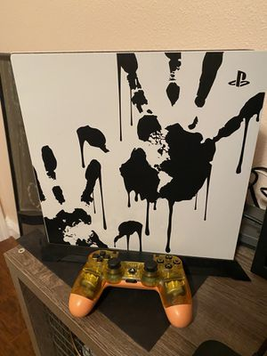 Ps4 Pro DEATH STRANDING Edition Console and controller for Sale in St. Cloud, FL