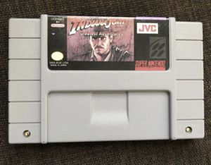 Indiana Jones Greatest Adventures Super Nintendo Game! SuperNES Works! Great Christmas Stocking Present! for Sale in Henderson, NV