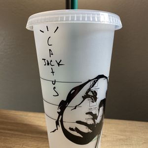 Customized Travis Scott Starbucks Cup for Sale in Fresno, CA
