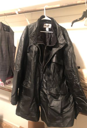 Big & Tall leather jacket for Sale in Brentwood, CA