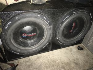 American bass 12 inch subwoofers for Sale in Arlington, TX