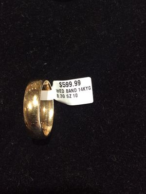 Men's Wedding Bands. $400-1500 obo. Tested 14k gold or platinum. Other options with diamonds for Sale in San Mateo, CA