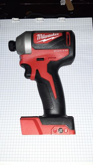 """MILWAUKEE 1/4"""" BRUSHLESS IMPACT for Sale in Nineveh, IN"""