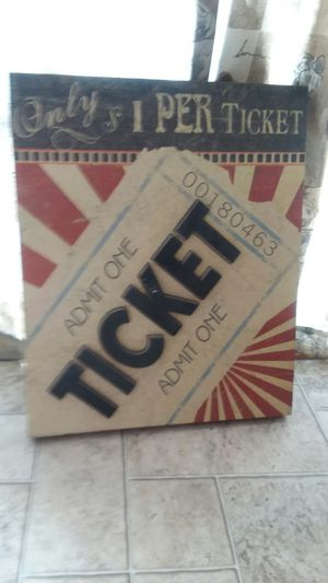 Ticket picture for Sale in Fruita, CO
