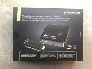 NEW / FACTORY SEALED IOGEAR GWHD11 Wireless HDMI Transmitter and Receiver Kit for Sale in Seattle, WA