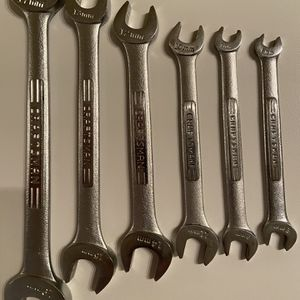 Craftsman Metric Open-end Wrenches (Forged in U.S.A.) for Sale in Alpharetta, GA