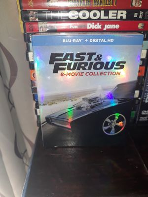 Fast and furious blue ray for Sale in Fontana, CA