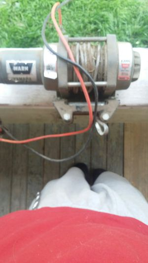 Yamaha exclusive warn Industries winch $75 for Sale in Alliance, OH