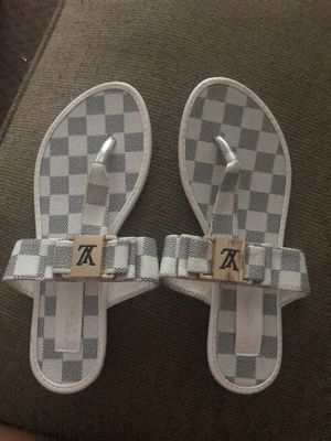 Louis Vuitton Sandals Size 7 for Sale in Levittown, PA