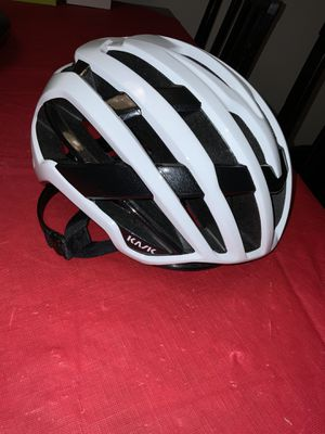 New without box Kask Valero cycling helmet in White/large = 59-62cm for Sale in Mill Creek, WA