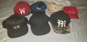 Hat's lot (obey, vans, supreme, dope, need, h&M) for Sale in Houston, TX