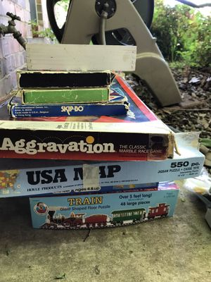 Board games puzzles etc. three dollars each for Sale in Haltom City, TX