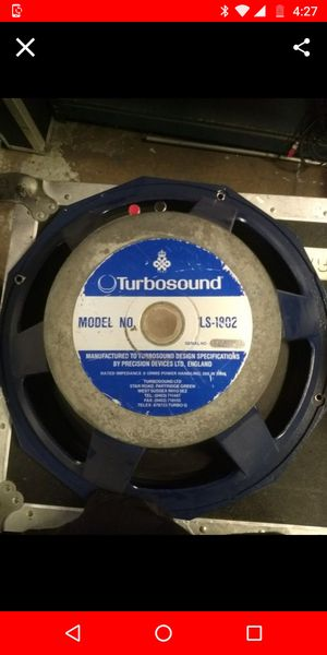"Turbosound LS1802 18"" subwoofer driver for Sale in Riverside, CA"