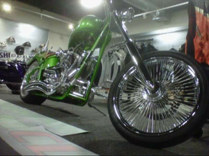 03Titan side winder softail custom chopper for Sale in E BRIDGEWTR, MA