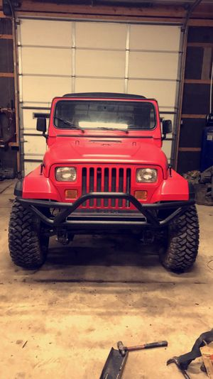 1995 yj Jeep Wrangler lifted on 33s for Sale in Grove City, OH