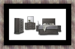 11pc Kate bedroom set with mattress for Sale in Hillcrest Heights, MD
