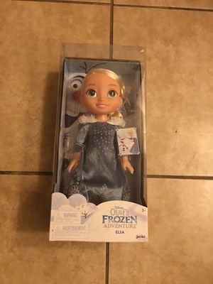 Frozen Elsa doll for Sale in Phoenix, AZ