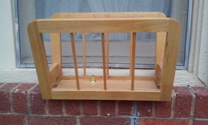 Wood Catch-all or Magazine Rack for Sale in Fort Worth, TX