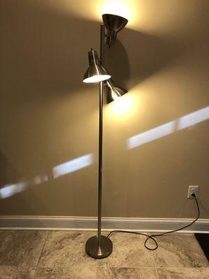 Satin Steel Tree Floor Lamp for Sale in Alexandria, VA