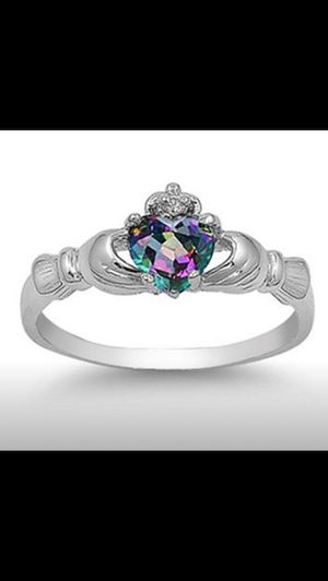 Sterling silver and opal ring size 6 for Sale in Saint Cloud, FL