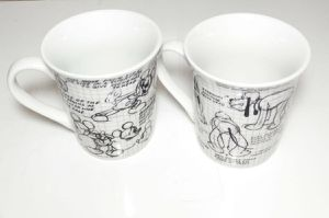 Disney Sketchbook Mickey Mouse Coffee Cups / Mugs NEW Minnie Donald #Set of 2 for Sale in Florissant, MO