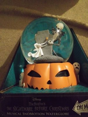 Nightmare before Christmas snow globe for Sale in Phoenix, AZ