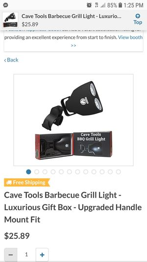 BBQ Grill Light Cave Tool. New for Sale in Pomona, CA