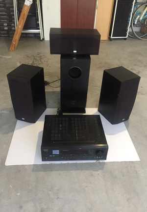Onkyo speaker system . Works perfectly for Sale in St. Cloud, FL