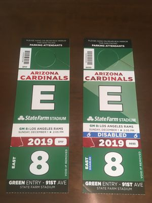 Steelers VS. Cardinals for Sale in Goodyear, AZ