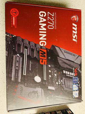 Z270 GAMING M5 for Sale in La Quinta, CA
