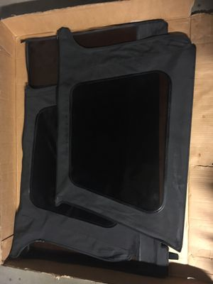 Bestop Supertop Tinted Windows Black Demin for Jeep TJ for Sale in Placentia, CA
