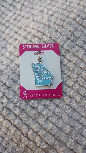 Georgia Vintage Sterling Silver Charm for Sale in Chandler, AZ
