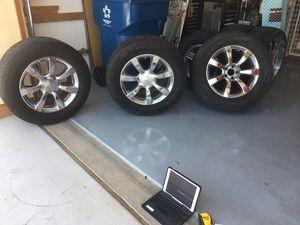 Infinity SUV rear wheel drive rims, 3 available. (SW Las Vegas) for Sale in Las Vegas, NV