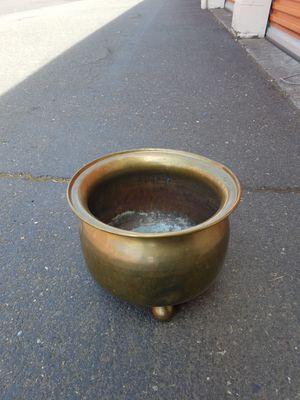 Vintage metal planter for Sale in Portland, OR