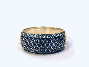 14K NATURAL SAPPHIRE RING 1CTW Retail $3200 for Sale in Roseville, CA