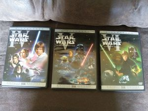 3 Star Wars DVDs ($6 total for all 3 DVDs) for Sale in BRECKNRDG HLS, MO