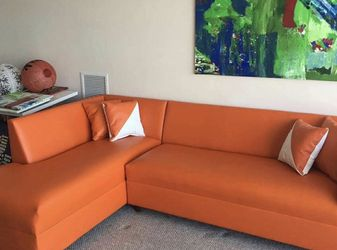 Orange Couch Brand New For Sale for Sale in Miami Springs,  FL