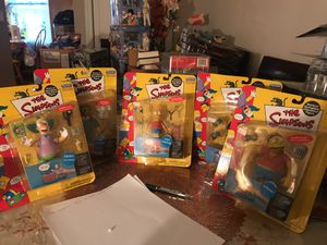 The simpsons collectibles toys from playmate for Sale in Stamford, CT