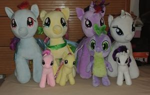 My little pony plush toys for Sale in Manassas Park, VA